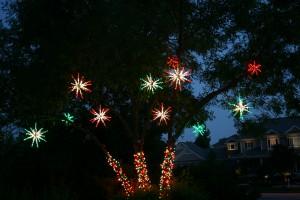 Outdoor tree, Starbursts